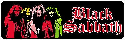 BLACK SABBATH CAR WINDOW STICKER DECAL