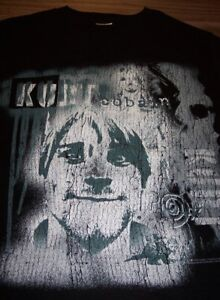 KURT-COBAIN-NIRVANA-T-Shirt-2006-XL-NEW