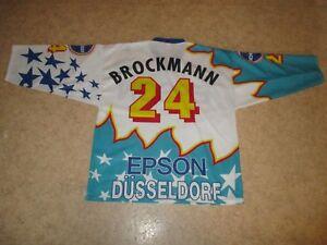 Dusseldorfer-EG-starter-Eishockey-Trikot-1995-96-034-EPSON-034-Nr-24-Brockmann-Gr-XL