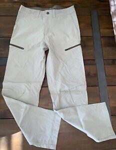 Zeroxposur Hombres Todo Terreno Ligero Upf 50 Pantalones Ajustados Piedra Talla 30 X 30 Ebay