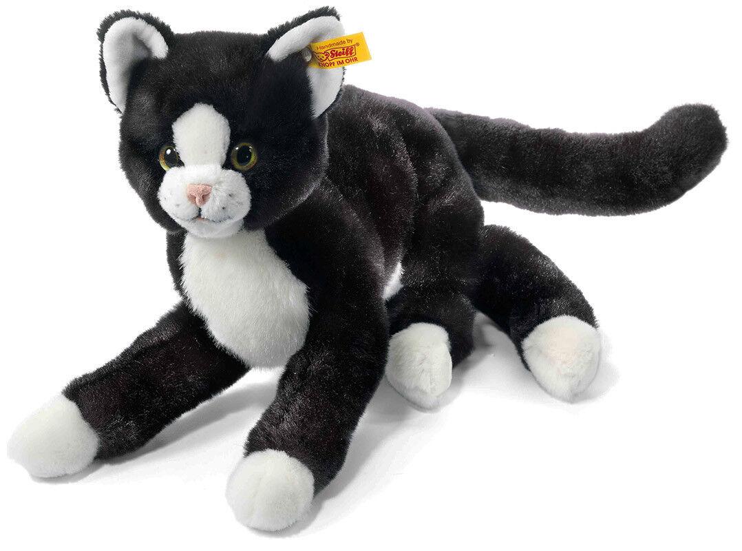 Steiff Mimmi Kitten Cat - soft, cuddly, washable, plush soft toy - EAN 099366