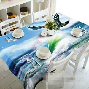 3D Sea wave 73 Tablecloth Table Cover Cloth Birthday Party Event AJ WALLPAPER AU