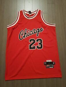 quality design c8cfc 8ac3f Details about Vintage Nike Chicago Bulls #23 Michael Jordan 1984-85 Sewn  NBA jersey 50