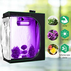 Outsunny120-60-150cm-Indoor-Plant-Grow-Tent-Green-Room-Hydroponic-Canopy-Mylar