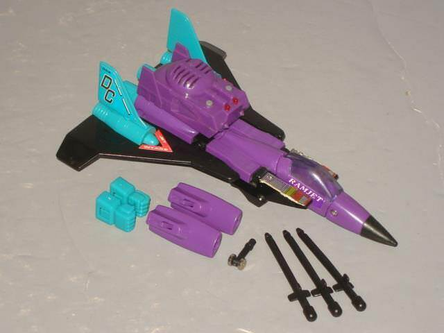 G2 TRANSFORMER DECEPTICON RAMJET COMPLETE LOT   4  CLEANED  ELECTRONICS DO WORK
