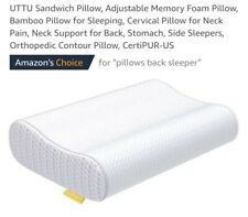 UTTU Sandwich Pillow, Adjustable Memory