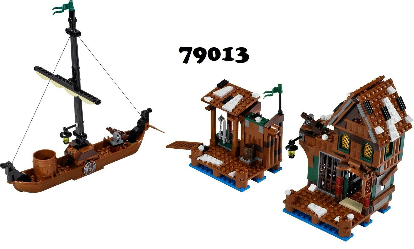 NEW  Lego LOTR The Hobbit 79013 Lake-Town Chase  NO MINIFIGURES