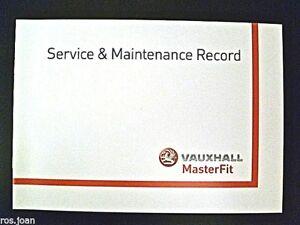 Vauxhall COMBO Van & CREW Van Service book History Record  Brand New