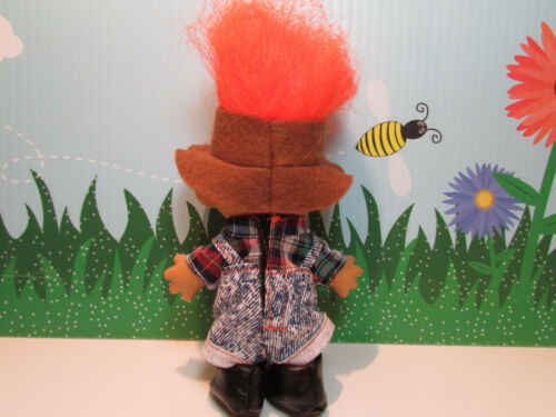 "FARMER 5/"" Russ Troll  Doll NEW IN ORIGINAL WRAPPER"