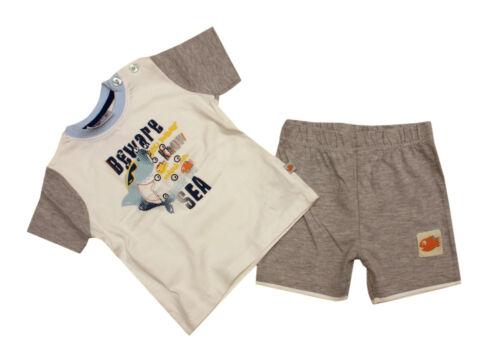 Baby Junge Sommer SET Kombination Spieler T-Shirt kurze Hose AUSWAHL 50-86 NEU