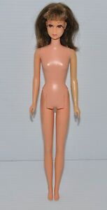 FRANCIE-Doll-Bendable-Leg-Brunette-Japan-1965-Mattel-BARBIE-rj