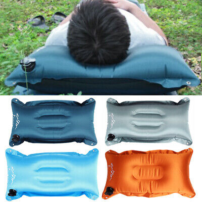Portable Waterproof Inflatable Outdoor Camping Trave Air Pillow Cushion+Sack