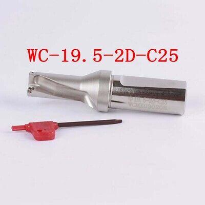 Φ18-2D-C25 18mm-2D U drill indexable drill For WCMX030208 CNC U drill insert