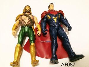 Aquaman & Superman action figure 2015 mattel DC Comics lot of 2 figures only!