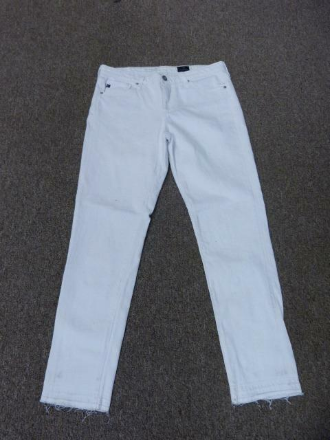 NWOT AG ADRIANO goldSCHMIED THE STEVIE ANKLE SLIM STRAIGHT JEANS sz 27R