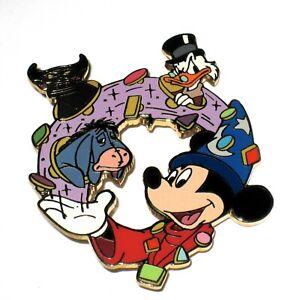 Rare Le Disney Auction Pin Fantasia Mickey Sorcerer Hat Uncle Scrooge Chernabog Ebay