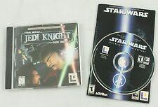 Star Wars Jedi Knight Dark Forces II & Outcast Vintage PC Computer Game Bundle