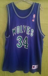 Details about Isaiah Rider Minnesota Timberwolves Champion Jersey Size 48 never worn.