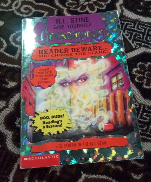 Scream of the Evil Genie by R. L. Stine (Paperback, 1997)