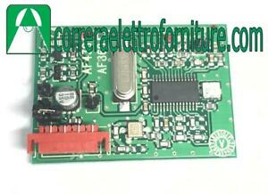 CAME-001AF43S-Scheda-Ricevente-ad-Innesto-AM-433MHz-cancello-radiocomando-nuovo
