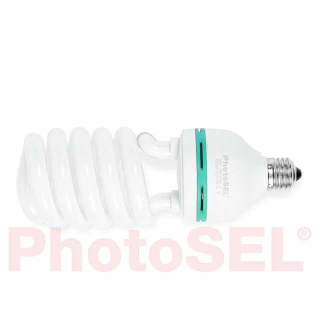 PhotoSEL BBEH4 55W 3000lm 5500K 90+ CRI Studio Fluorescent Lighting Light Bulb