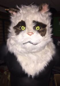 Realistic Cat Mask With Moving Mouth Jaw Moves As You Speak NWT ... fbd9b00fa82a