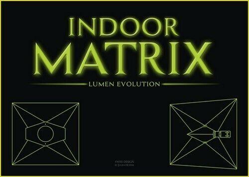 Reflector de luz de crecimiento Capucha highpro Interior matriz Lumen evolución