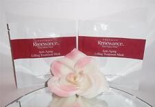 2 Freeman Renewance Anti-Aging Lifting Treatment Mask Disposable Cloth 0.74oz