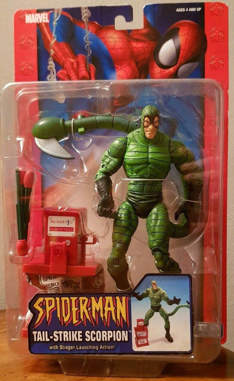 Scorpion Tail Strike Spider-Man Marvel Toy Biz Civil Universe Hasbro New Legends