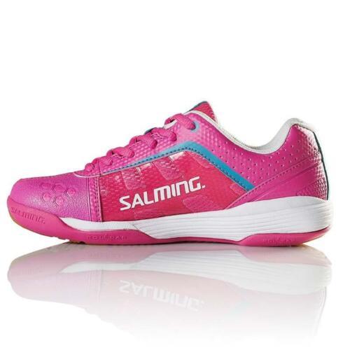 Pink Salming Adder Womens Indoor Court Shoe - Squash Badminton- Reg $200