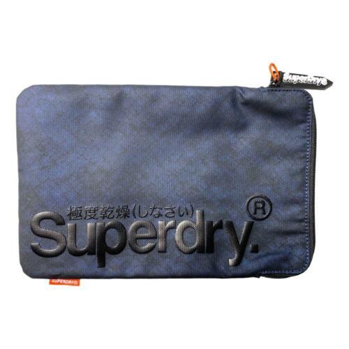 Blue BNWT Superdry NEW Men/'s Tablet Sleeve