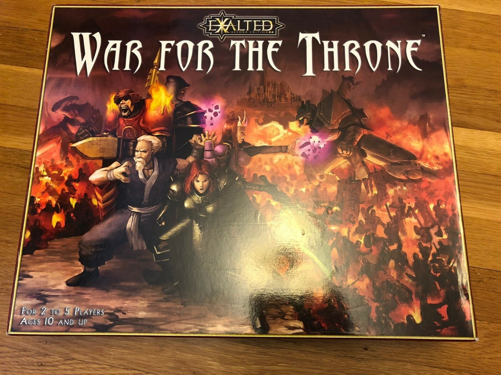 descuento de bajo precio Guerra por el trono exaltado 2nd 2nd 2nd Edición Juego De Mesa Completo Excelente blanco Wolf  envío gratuito a nivel mundial