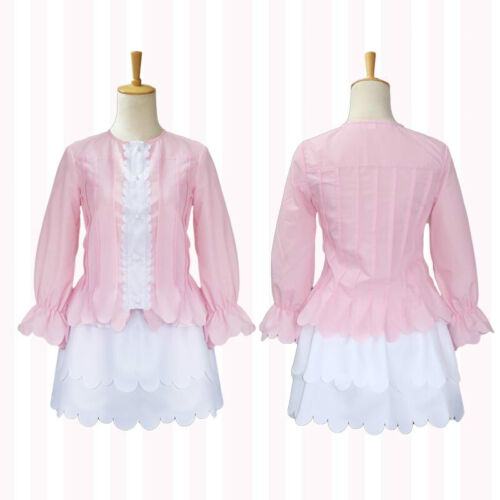 Costumes, Reenactment, Theatre Miss Kobayashi's Dragon Maid Kanna Kamui  Cosplay Costume Pink Dress Full Set Clothing, Shoes & Accessories quiebre.cl