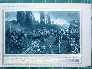 1915 Première Guerre Mondiale G.mondiale 1 Imprimé ~ Prisoners Fournit à Kaiser Cbe21ldd-08000557-857630547