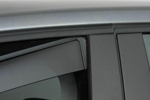 Climair Windabweiser Hyundai KonaEV OS SUV ab 2017 mit ABE Tiefschwarz 4 Teilig