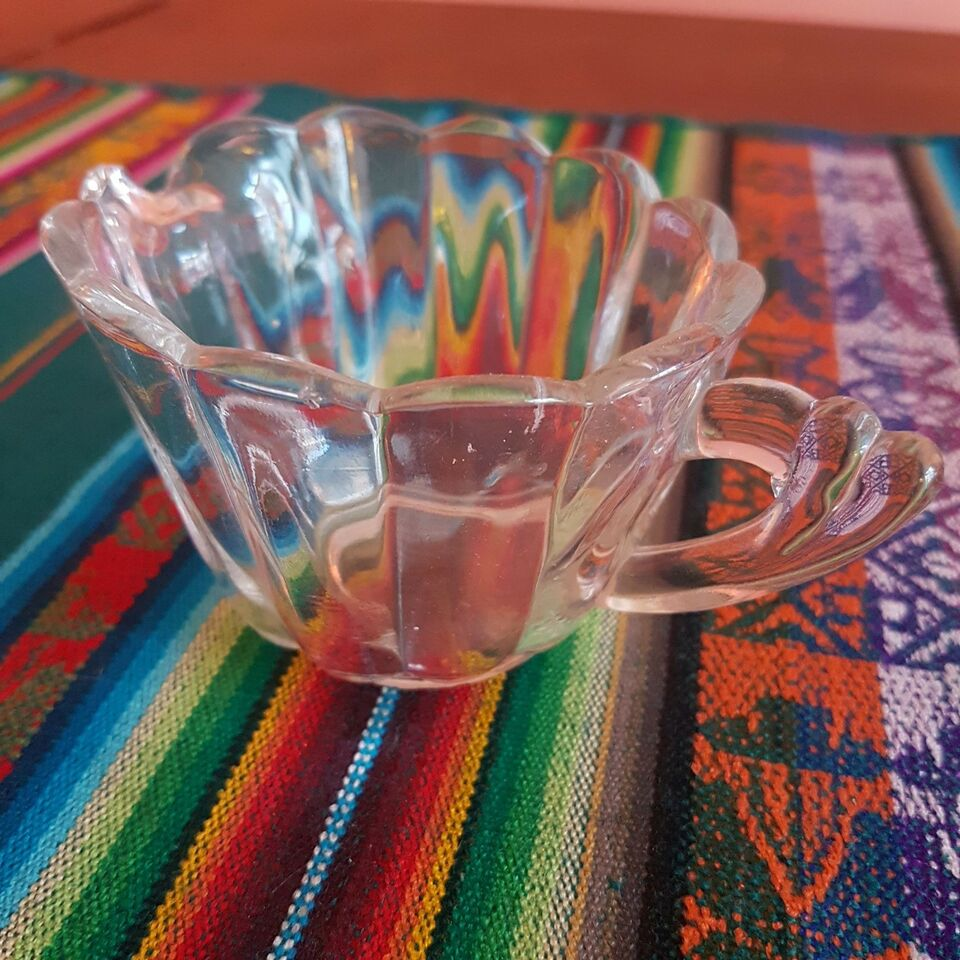 Glas, Flødekande