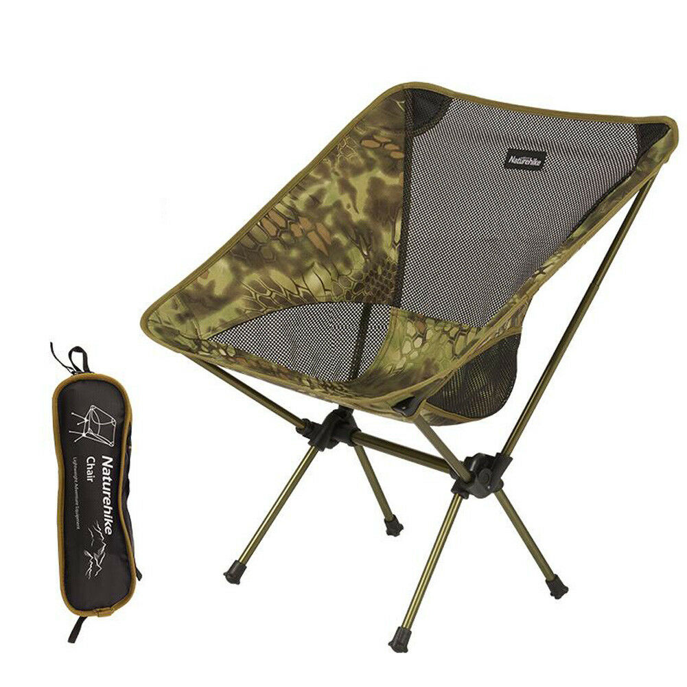 Compact Outdoor Camping Chair Foldable Fishing Chair Stool Picnic Garden Seat