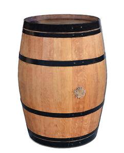 tonneau en bois cuve table de bar haute f t de ch ne tonneaux de vin barrique ebay. Black Bedroom Furniture Sets. Home Design Ideas