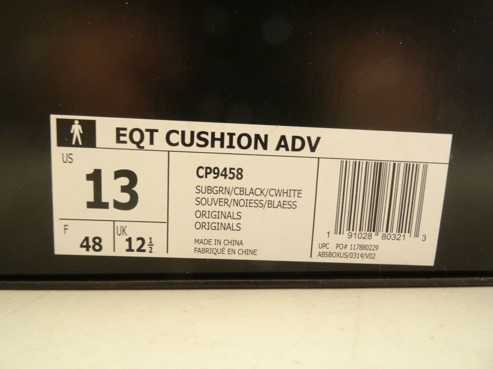 Adidas EQT Cushion ADV 91 17 verde North America sz sz sz 13 CP9458 Yeezy Boost 350 dadbf9