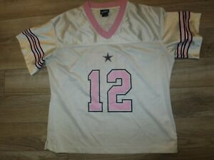 Dallas-Cowboys-12-NFL-Football-Jersey-Women-039-s-M-8-10