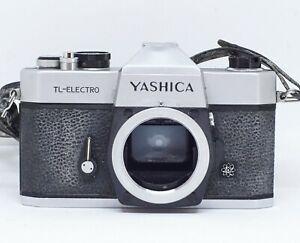 Yashica-TL-Electro-35mm-Spiegelreflexkamera-Body-getestet-amp-funktioniert