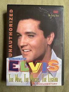 DVD: Inside Story Elvis the Man Music Legend Early Years Memphis Documentary OOP