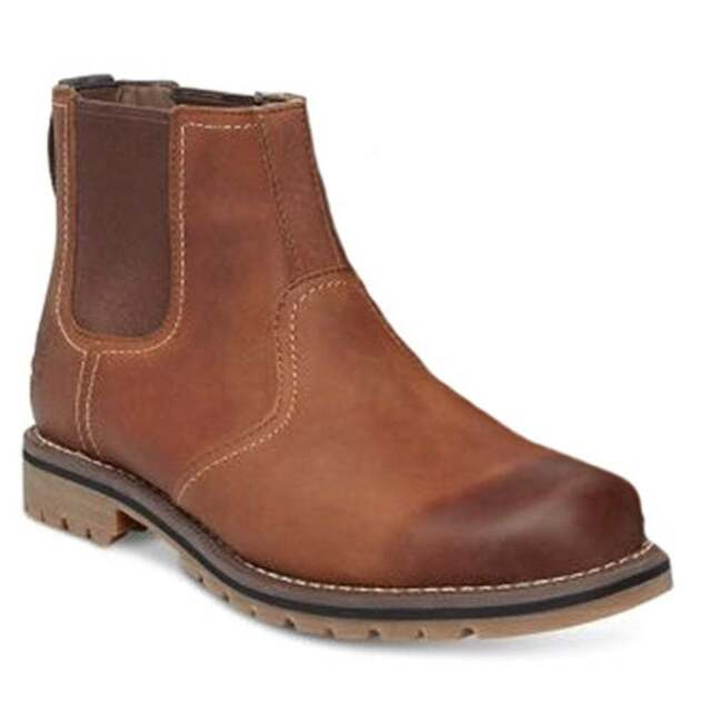 Mens leather chelsea boots sale uk