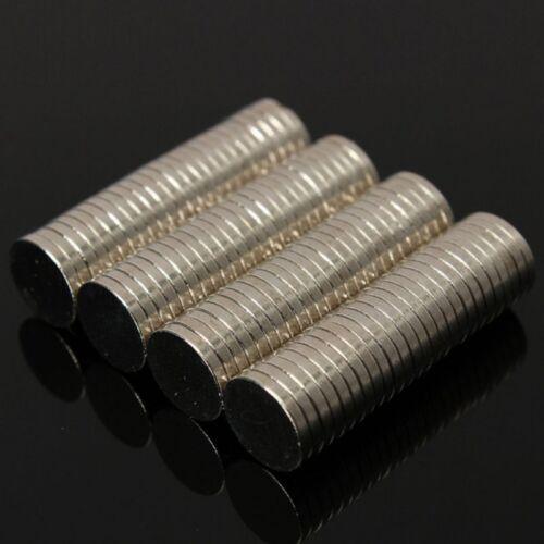 Mini Neodymium Magnet 8 x 1.5mm Rare Earth Strong Permanent Magnetic Disc