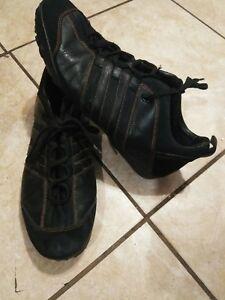 Details about Adidas leather shoes men 12