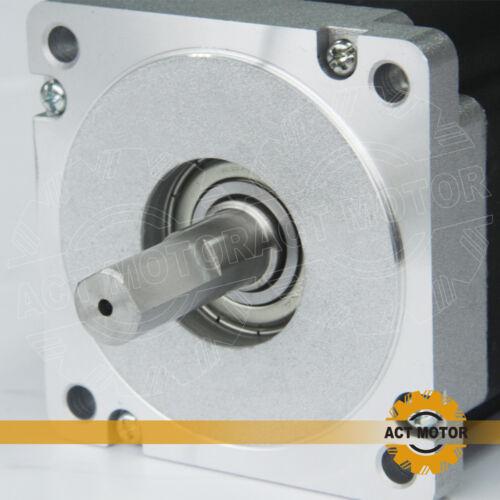 ACT Motor GmbH 3PCS Nema34 Stepper Motor 34HS1456B Schrittmotor 5.6A 116mm 8.4N.