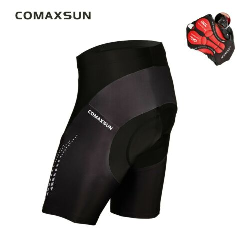 New Men/'s Cycling Shorts 3D Gel Padded Bike Bicycle Sports Tight S-3XL 6 Style