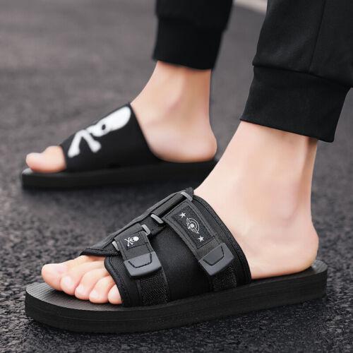 Summer Men Camouflage Beach Slippers Slides Home Shoes Casual Sandals Flip Flops