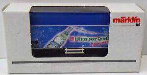 Maerklin-H0-94140-Wittenseer-Quelle-Kuehlwagen-Sondermodell-NEU-NEW-unbespielt