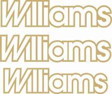 3 X 16V Renault Clio Williams conjunto completo de Reemplazo Pegatinas Calcomanías-Cualquier Color